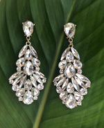 Medium Silver Chandelier Earrings