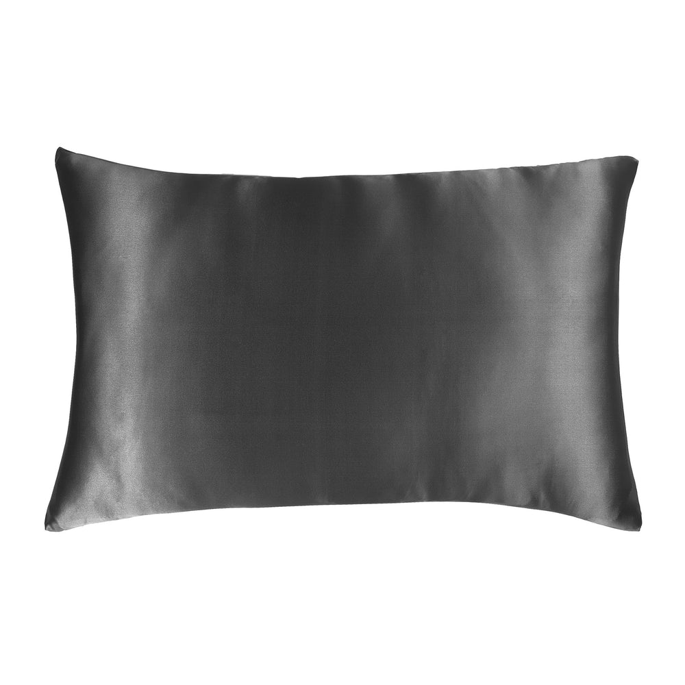 Pure Silk Pillowcase - Storm Cloud