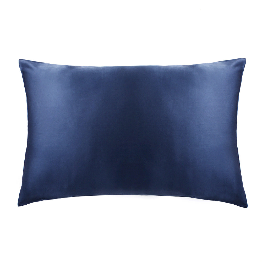 Pure Silk Pillowcase - Sorrento Blue