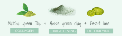 Ageless Angie Green Clay Mask