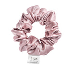 Pure Silk Scrunchie - Tea Rose