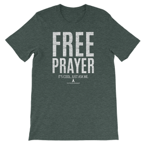 Free Prayer Tee | Forrest Green
