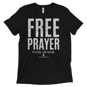 Free Prayer Tee | Black