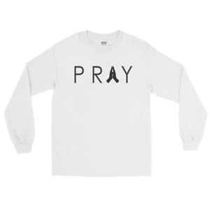 PRAY Long Sleeve | White