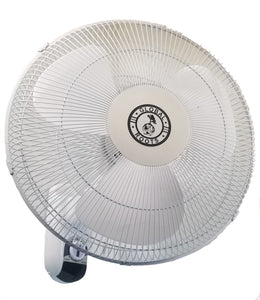 Global Roots; Global Roots Hydroponics; Fan; Wall-mount fan; oscillation fan; hydrponics; hurricade; 3 speed fan; high cfm fan; air movement; home fan;