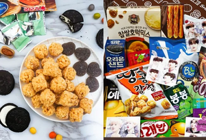 SnackBOOM Korean Snack Subscription Box with Kpop Idols' Freebies