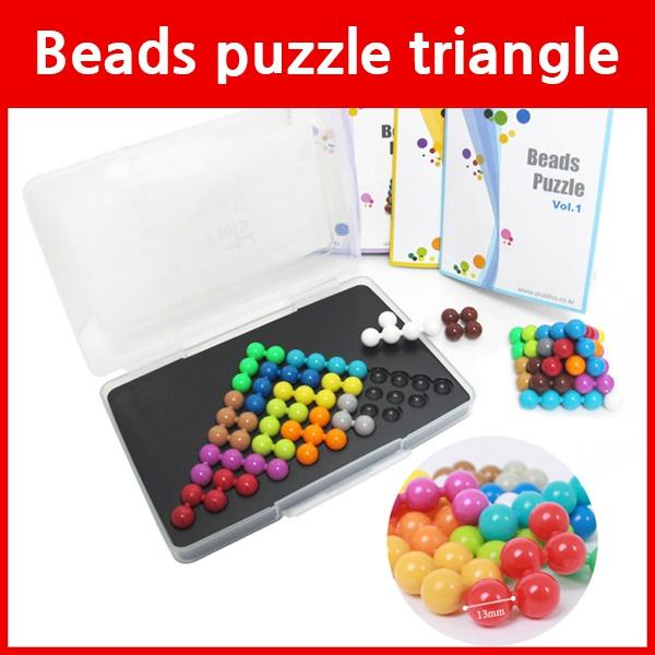 Beads Puzzle triangl