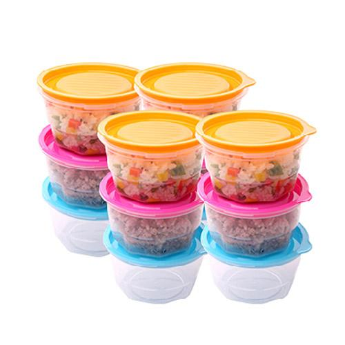 Baro Bob 12 set, convenient food storage, kitchen&dining, airtight container, microwave safe, easy meal prepare