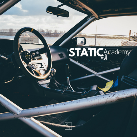 Static Academy car logo