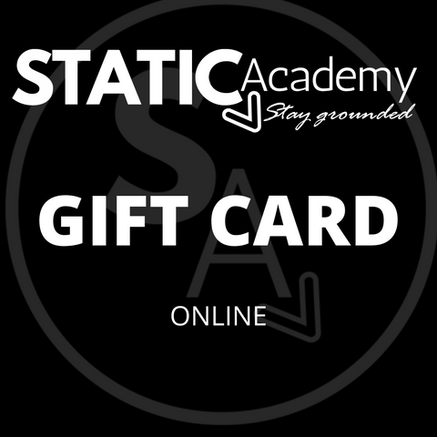 Static Academy Gift Cards (Online)