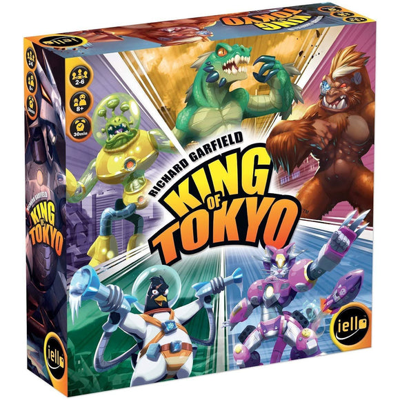 King of Tokyo - slightly dented box - Boardway India