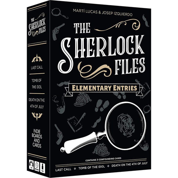 Sherlock Files Elementary Entries - Boardway India