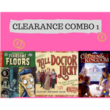 Clearance Combo Offer 1 : Fearsome Floors, Kill Doctor Lucky, For Crown and Kingdom - Boardway India