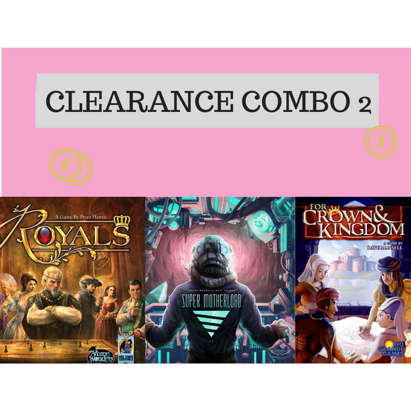 Clearance Combo 2: Super Mother Load, Royals and For Crown and Kingdom - Boardway India