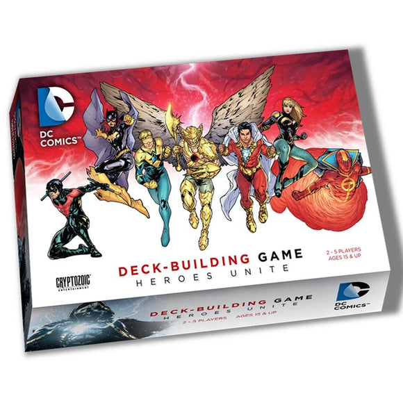 DC Comics Deck-Building Game: Heroes Unite - Boardway India