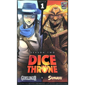 Dice Throne: Season Two - Gunslinger vs Samurai  (box 1)