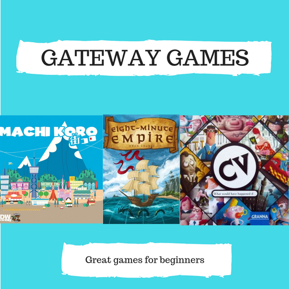Gateway Combo Offer : Machi Koro, Eight Minute Empire, Tsuro - Boardway India
