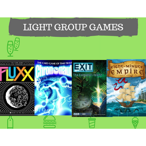 Light Group Games Combo Offer: Fluxx, Chrononauts, Exit: the Forgotten Island, Eight Minute Empire - Boardway India