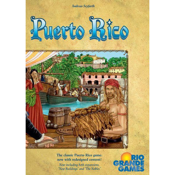 Puerto Rico Deluxe Edition - Base with Expansions - BOARDWAY INDIA