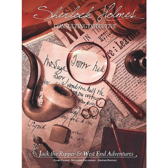 Sherlock Holmes Consulting Detective: Jack the Ripper & West End Adventures - BOARDWAY INDIA