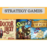 Strategy combo offer 2: Eight Minute Empire, Kill Doctor Lucky, Smash Up - Boardway India
