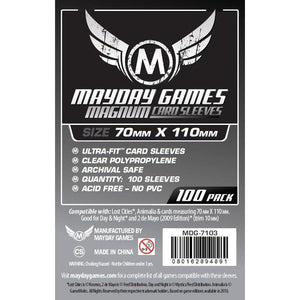"ZZ 132 ""Lost Cities"" Card Sleeves - Magnum Ultra-Fit (70x110mm): 100 Standard Sleeves - Boardway India"