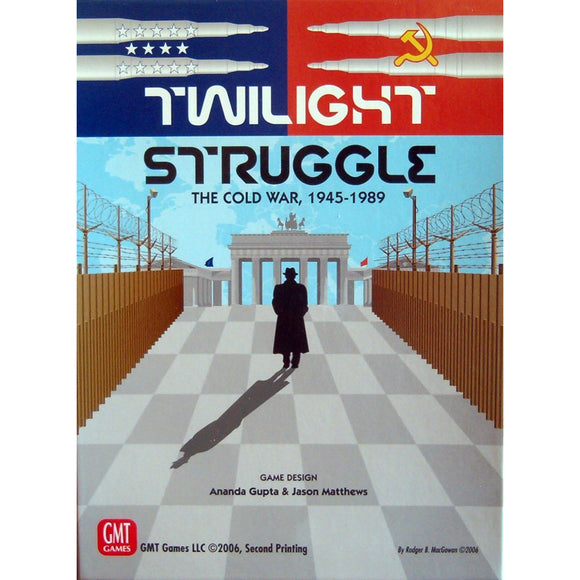 Twilight Struggle Deluxe Edition - Boardway India