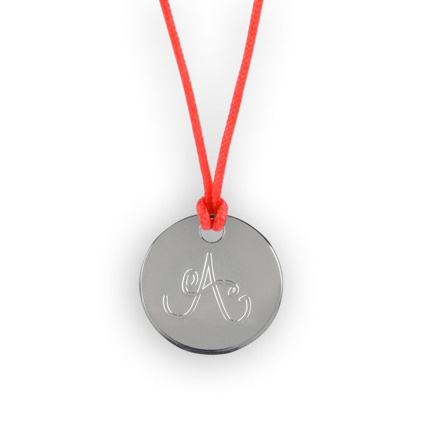 f5eef5f56f168 Médaille Argent Alphabet - R