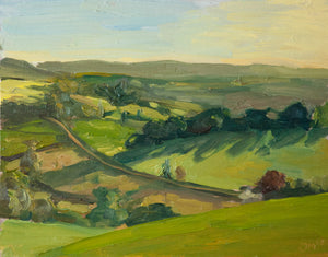 View of Berry Pomeroy - James Murch Fine Art