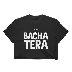Bachatera Female dancer Crop Top