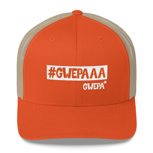 #GWEPAAA Trucker Cap ORANGE