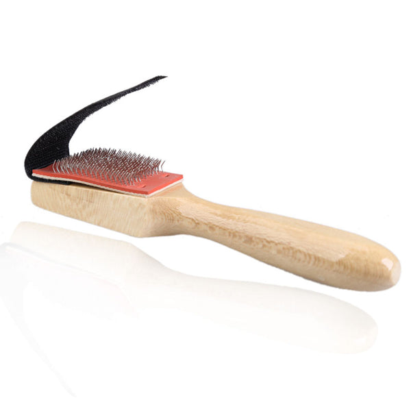 Suede Sole Wire Shoe Brush - Salsa and Tango Dance Shoes