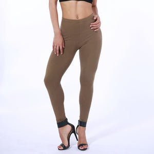 Ultra Soft Basic Casual High Waist Skinny Leggings