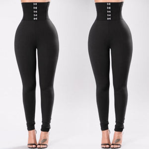 High Waist Slim Fit Luxury Trousers