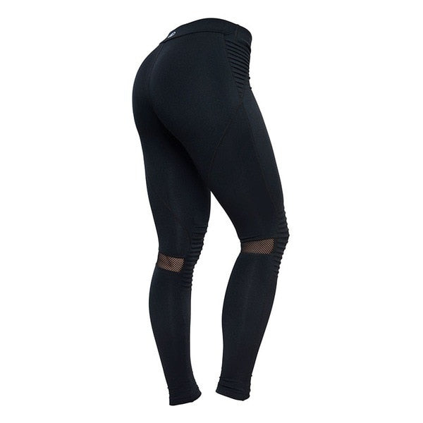 Plus Size Activewear  Mesh Leggings