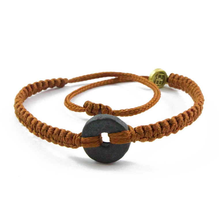 Black Wayta Sweet Caramel fair trade bracelets cover