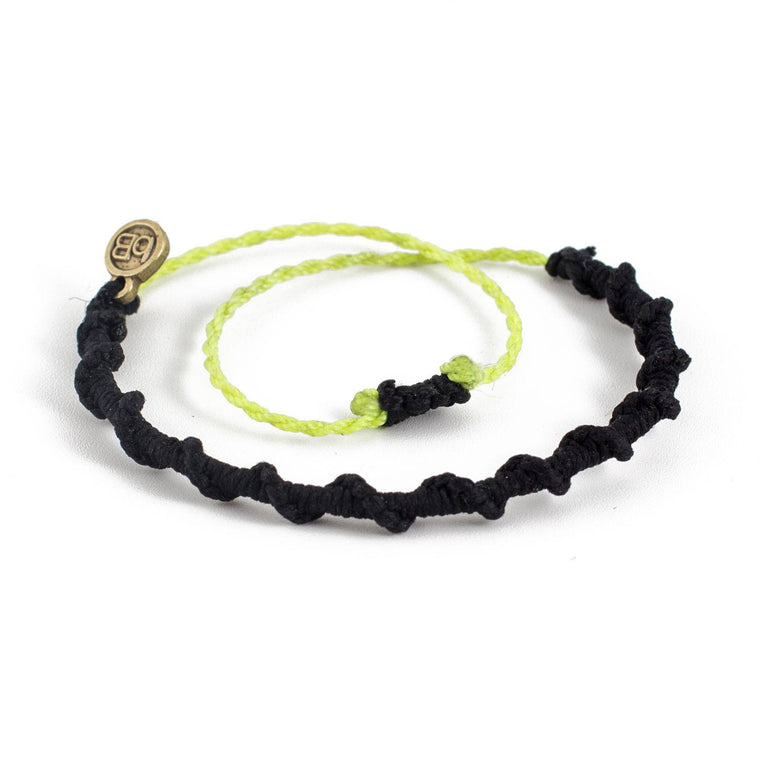 Chullpa Carbon Black tribal bracelets cover