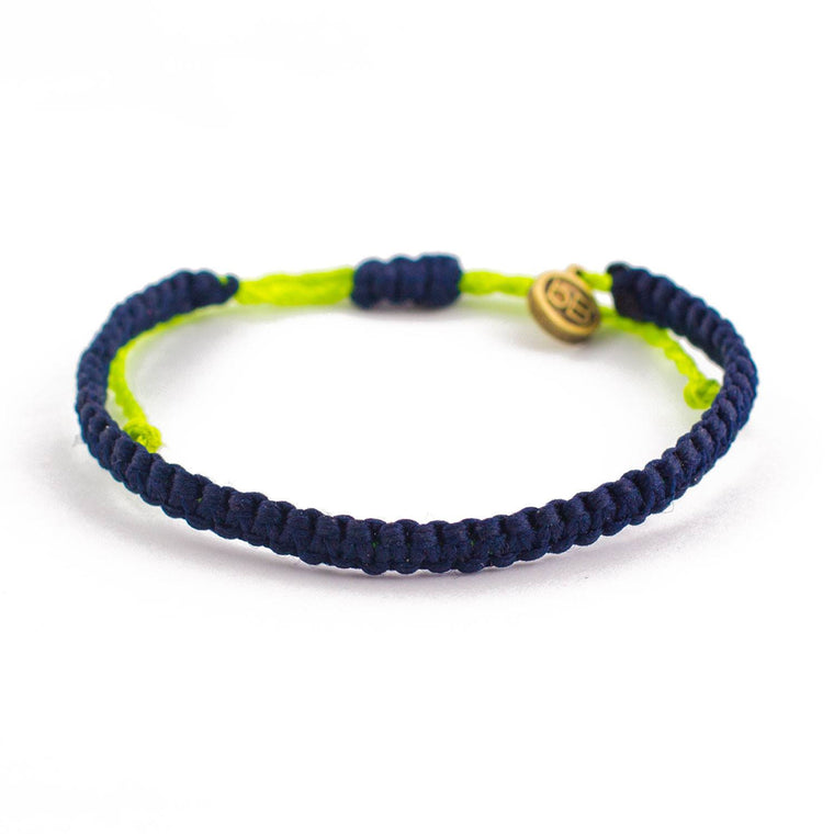 Andel Dark Blue Knotted Charity Bracelet Cover