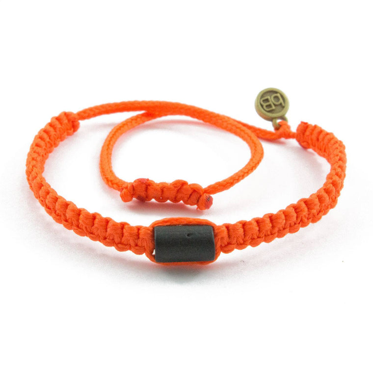 Black Cuzco Crayola Orange bolivian bracelets cover