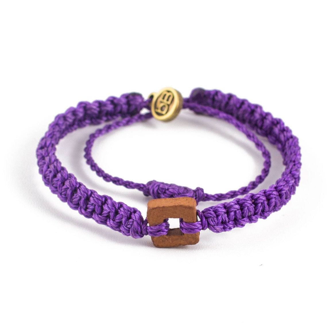 Brown Raymi Russian Purple bracelets that fight poverty cover