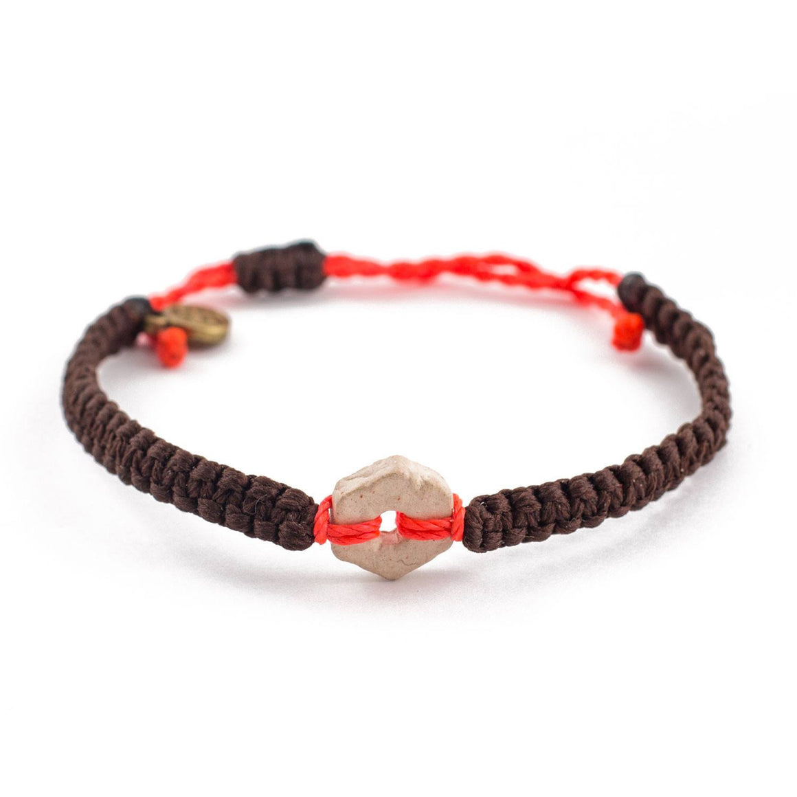 White Rustic Deep Watermelon handmade ethnic bracelets cover