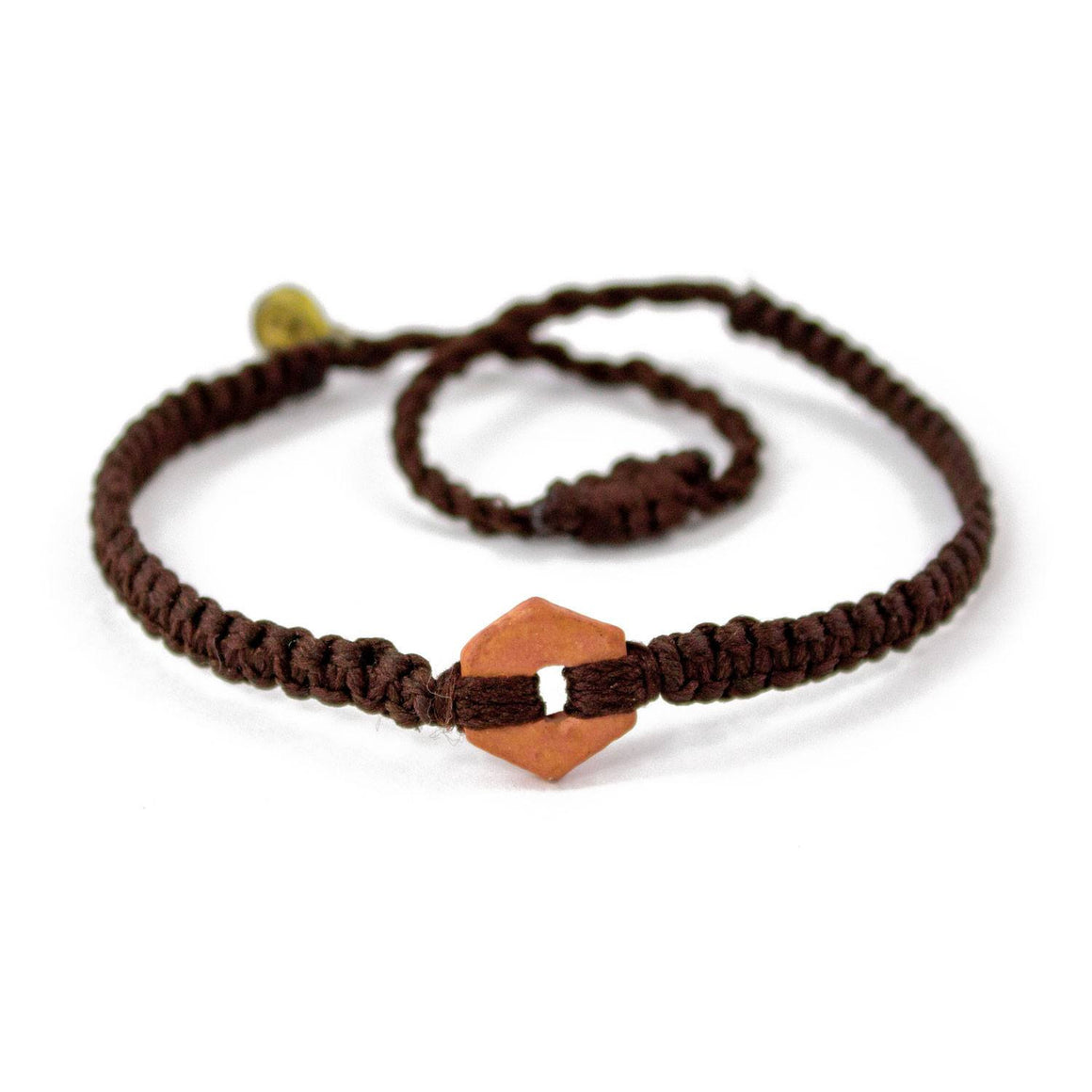 Brown Rustic Chocolate Brown handmade ethnic bracelets cover