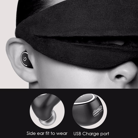 Wireless (Bluetooth) Handsfree Earbud with Mic