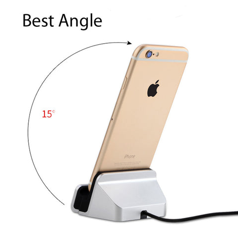 iPhone docking station for charging