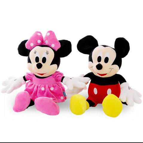 Mickey/Minnie Mouse Plush Toy
