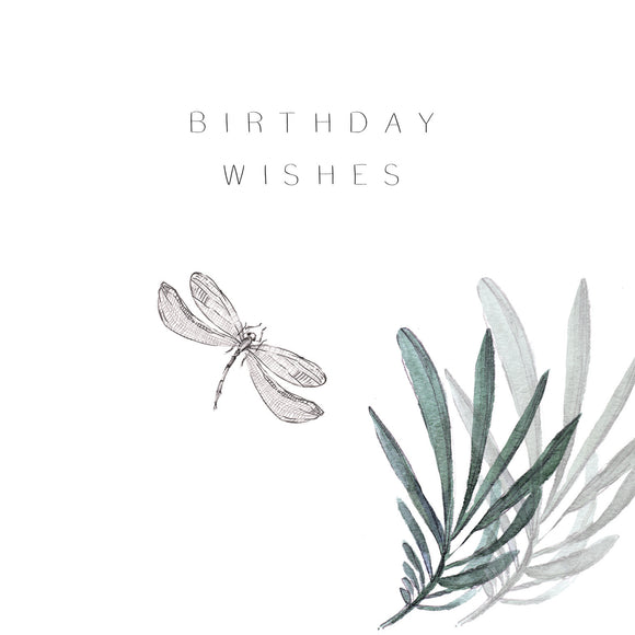 Birthday Wishes Dragon Fly