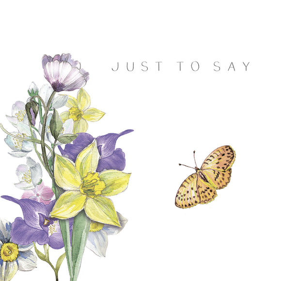 Just To Say Butterfly