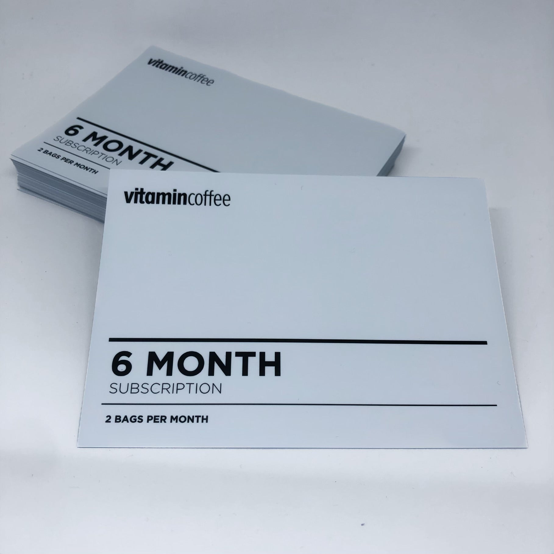 6 Month Subscription Gift Card