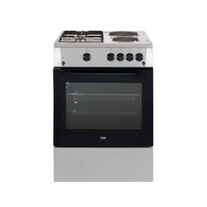 Beko 2G+2E inox cooker with gas grill