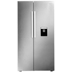 Samsung 520L Inox Side by side Refrigerator with water dispenser